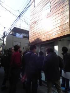 町田忍さんと歩く西小山ぶらぶらMAPに参加しました