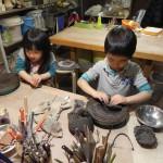 夏休みこども体験陶芸教室 2015